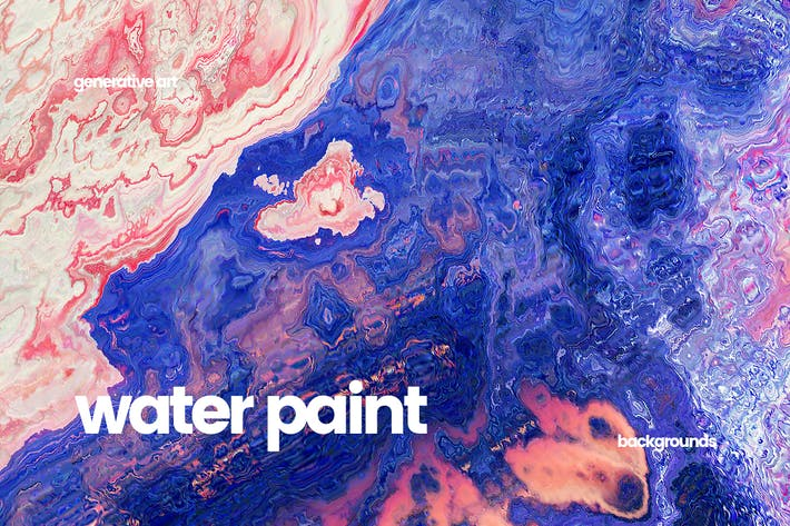 Thumbnail for Abstract Water Painting Textures