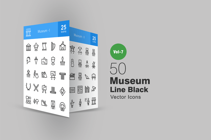 Thumbnail for 50 Icons der Museumslinie