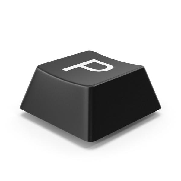 Кнопка клавиатуры P
