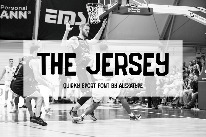 Thumbnail for The Jersey - Quirky College Font