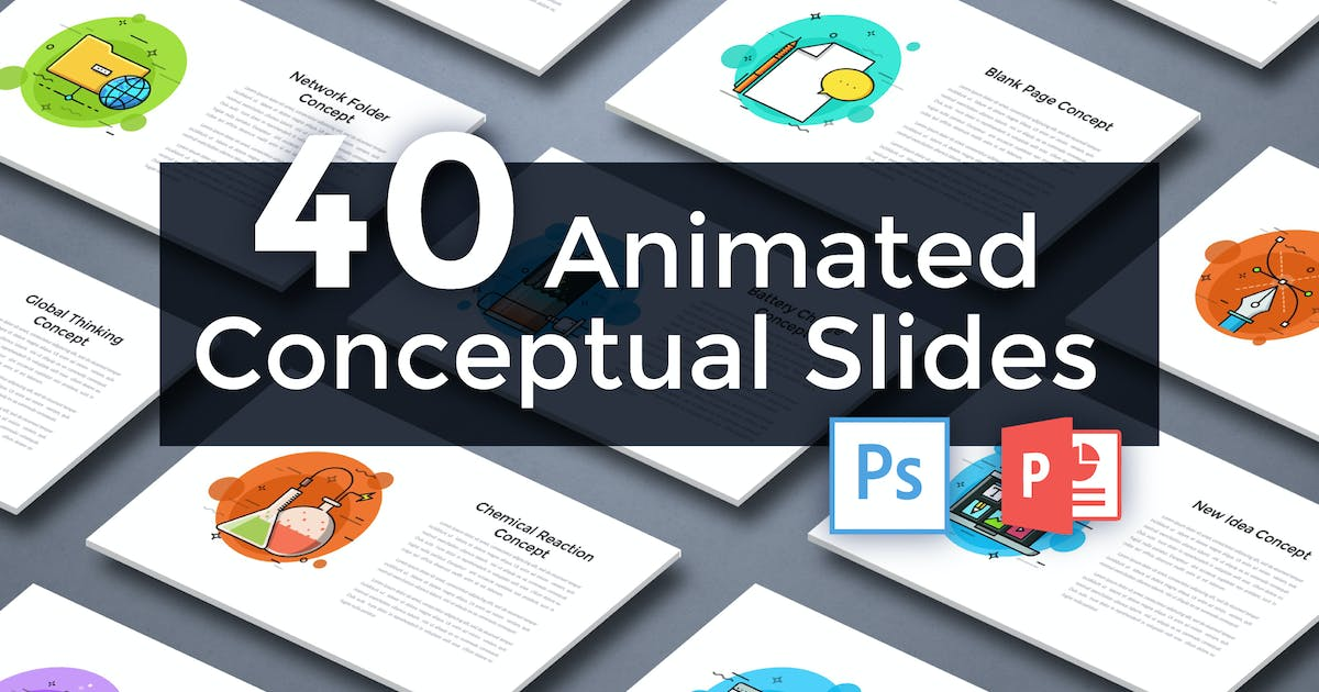 Download 40 Animated Conceptual Slides for Powerpoint p.4 by Andrew_Kras