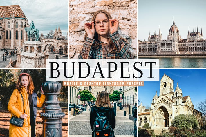 Thumbnail for Budapest Mobile & Desktop Lightroom Presets