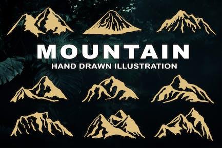 Mountain - Hand Drawn Illustration
