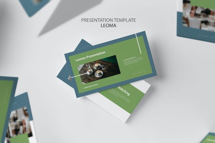 Thumbnail for Leoma: Кофейня Powerpoint