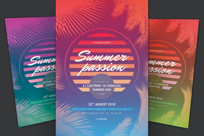 Thumbnail for Summer Passion Flyer