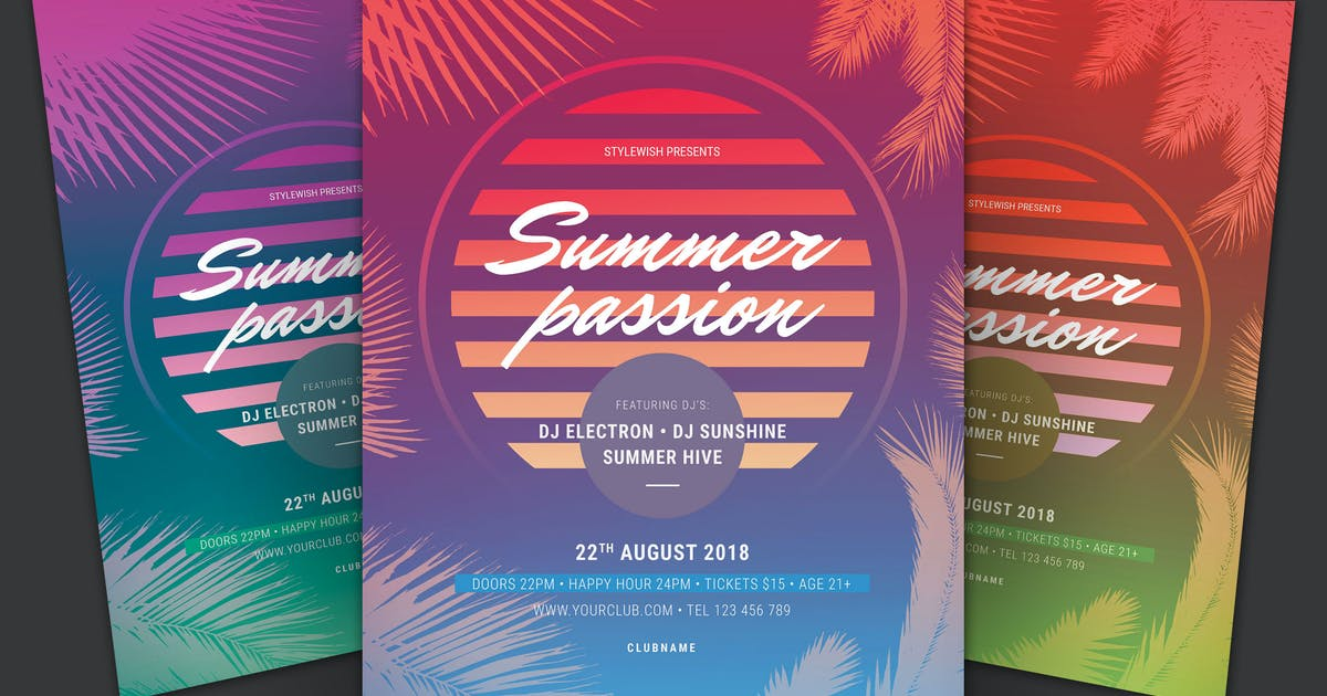 Download Summer Passion Flyer by Unknow