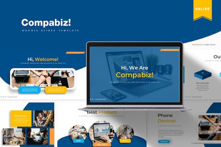 Thumbnail for Compabiz | Google Slides Template