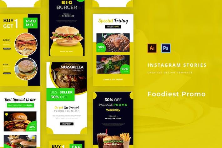 Foodiest Promo Instagram Story
