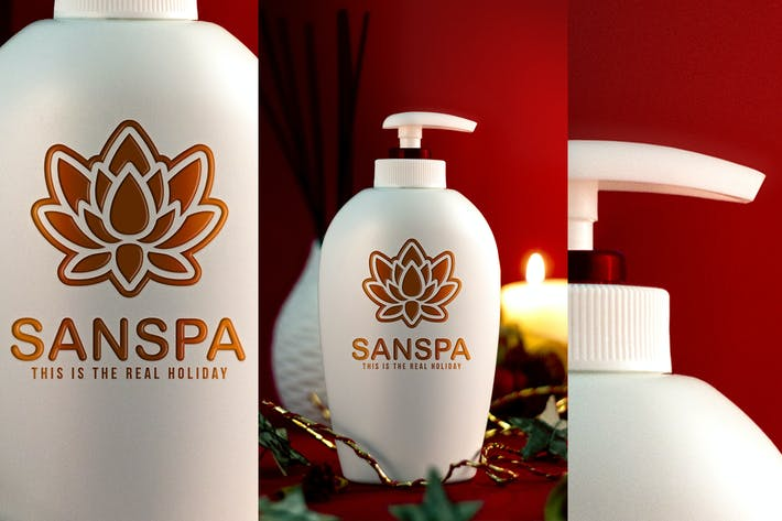 Thumbnail for Holiday Spa Mockup