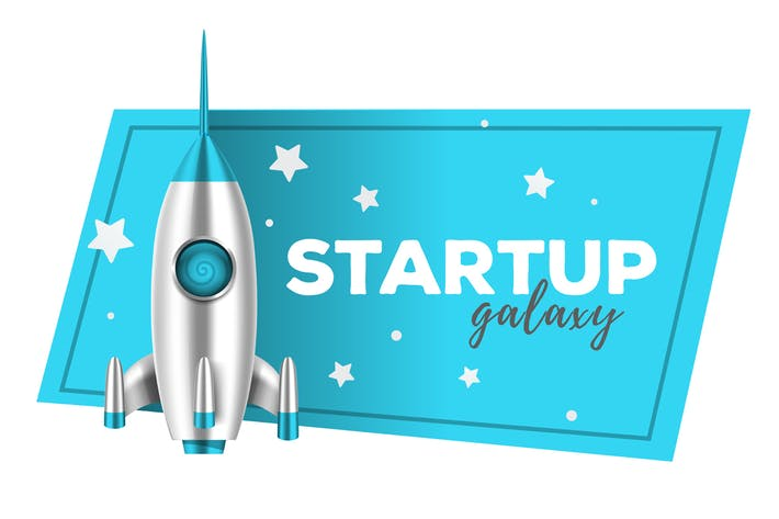 Thumbnail for Realistic vector startup shuttle illustrations