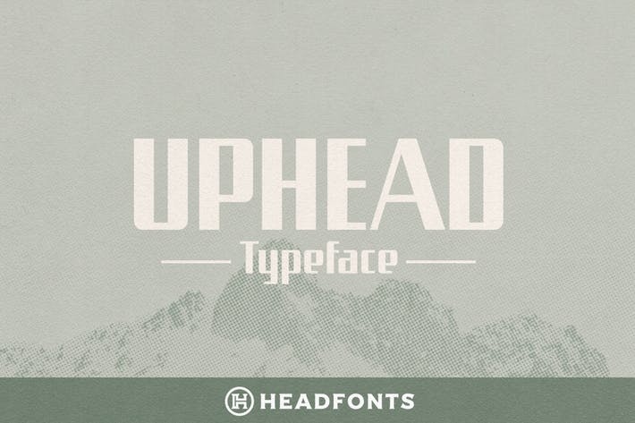Thumbnail for Uphead Typeface