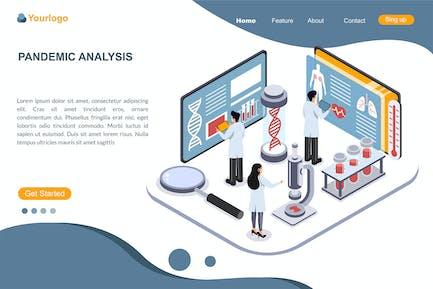 PANDEMIC ANALYSIS Landing Page