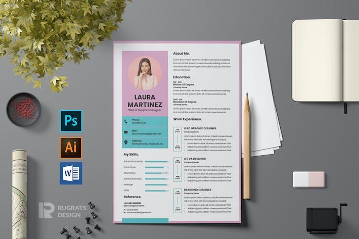 Thumbnail for CV  Resume R79