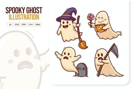 Netter gruseliger Ghost