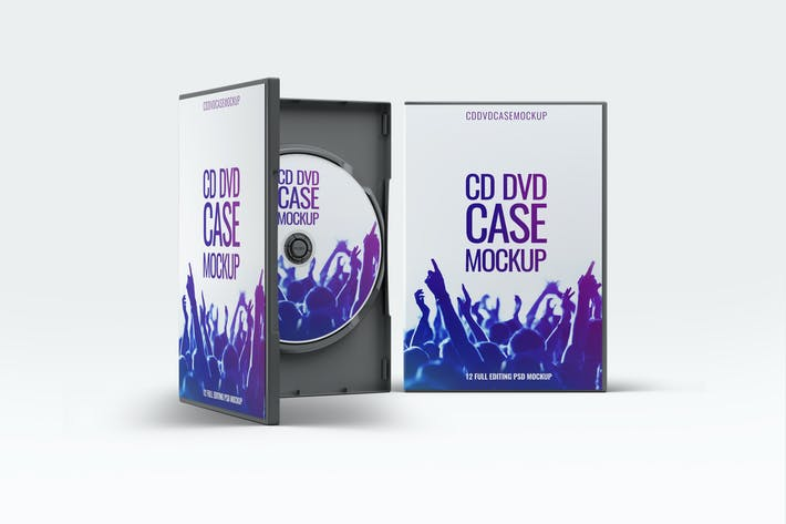 dvd case mock up by l5design on envato elements