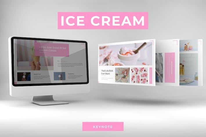Thumbnail for Сладкое мороженое - Шаблон Keynote