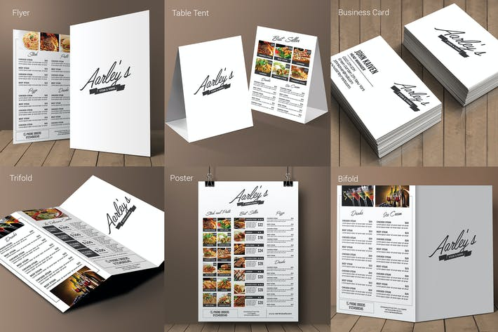 Thumbnail for Simple Restaurant Menu Pack