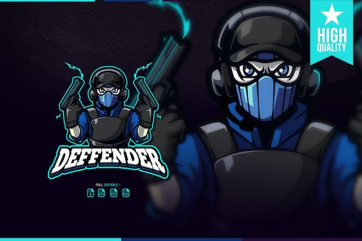 Deffender Esport Logo