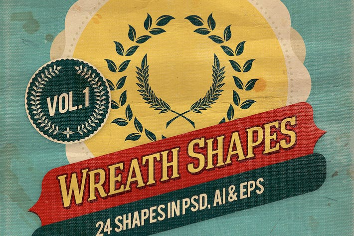 Thumbnail for Wreath Shapes Vol.1