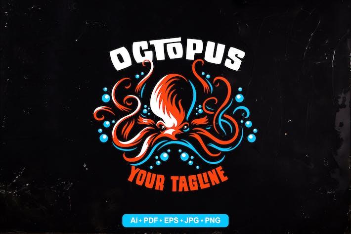 Thumbnail for Octopus Logo Template