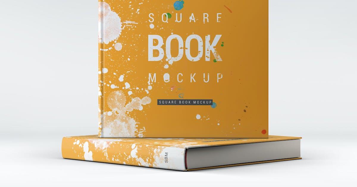 Download Square Book Mock-Up by L5Design