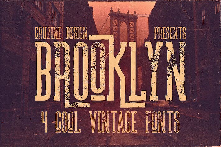 Cover Image For Brooklyn Typeface