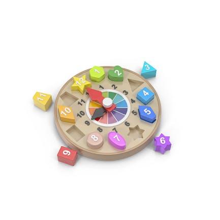 Clock Toy Puzzle