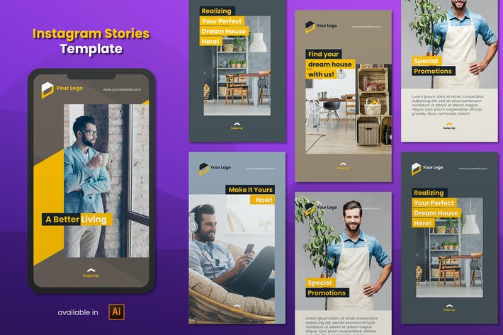 Thumbnail for Instagram Stories Template