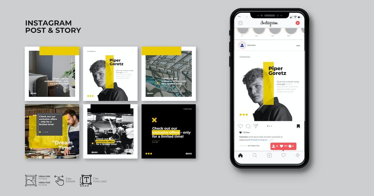 Download Minimalist Business Instagram Template by celciusdesigns