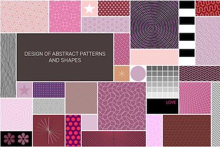 Abstract Patterns Seamless Design vector artwork
