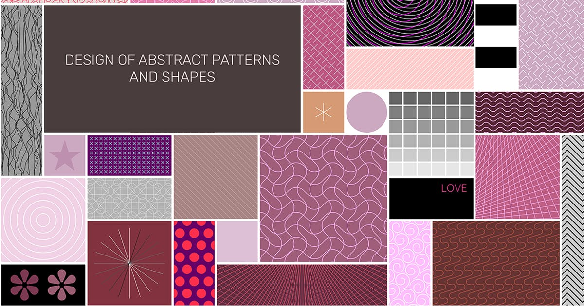 Download Abstract Patterns Seamless Design vector artwork by danjazzia