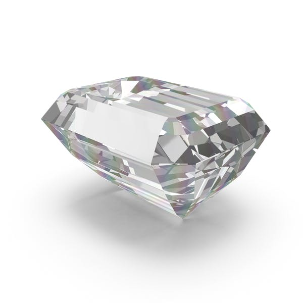 Thumbnail for Diamant im Smaragdschliff