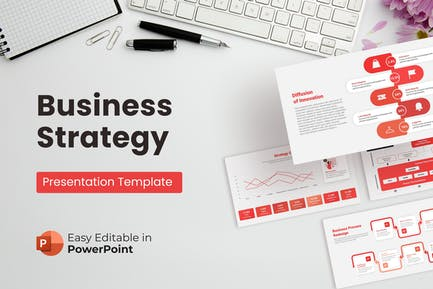 Business Strategy Presentation Template PPT