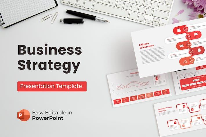 Thumbnail for Шаблон презентации бизнес-стратегии PPT