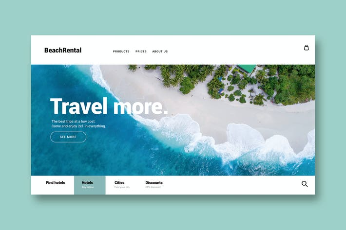 Thumbnail for Travel & Vacation - Landing Page