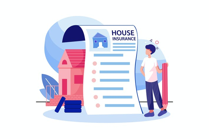 Thumbnail for House Insurance concept