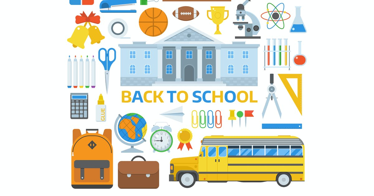 Download Back to School Elements Set by krugli