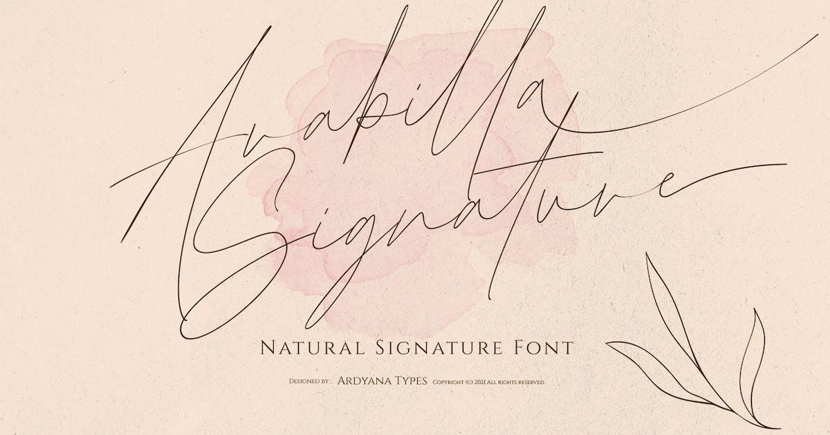 Download Arabilla Signature by ardyanaputra