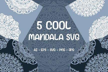 Enfriar Mandala Svg