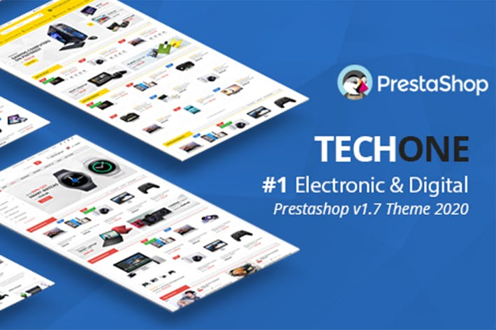 Thumbnail for Techone - Responsive Prestashop 1.7 Theme
