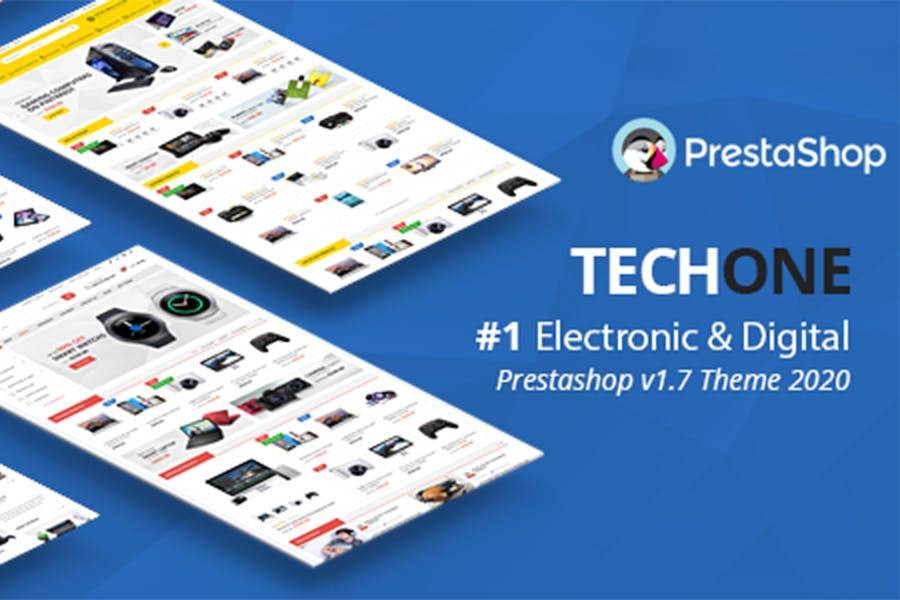 Techone - Responsive Prestashop 1.7 Theme - product preview 0