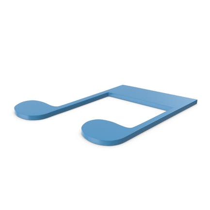Music Note Blue