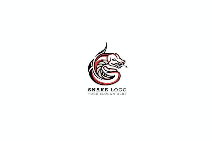 Thumbnail for Snake Logo Template
