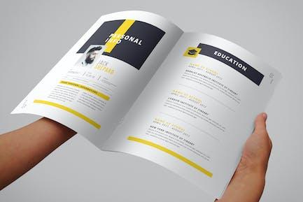 Livret de CV (8 pages)