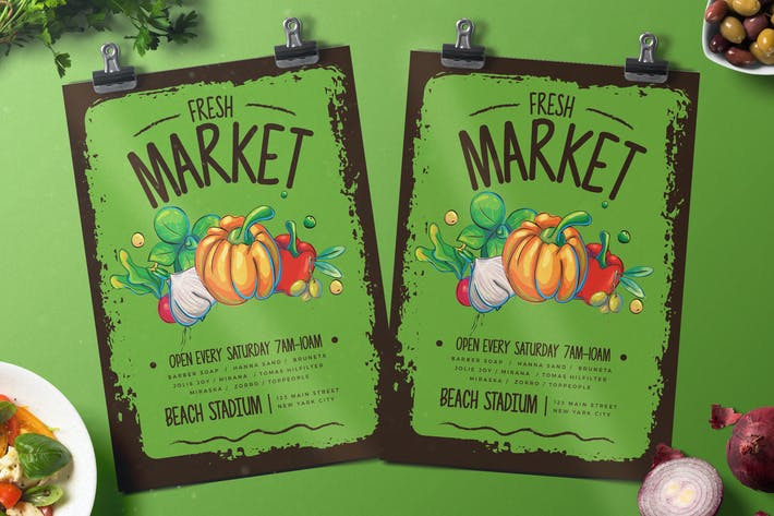 Thumbnail for Fresh Market Flyer