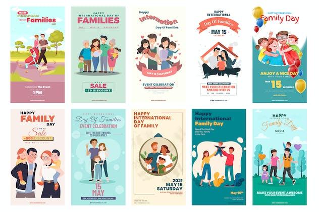 Family Day Instagram Stories