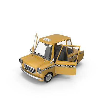 Мультфильм Такси Открытые двери