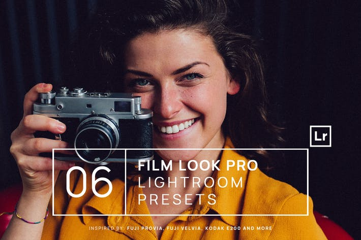 Thumbnail for 6 Film Look Pro Lightroom Presets