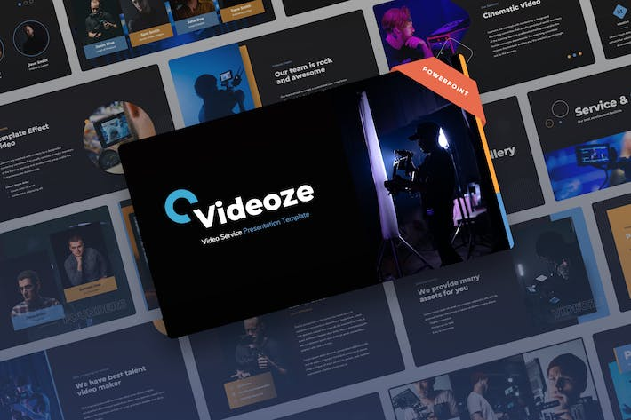 Thumbnail for Videoze - Презентация Видео сервиса Power Point