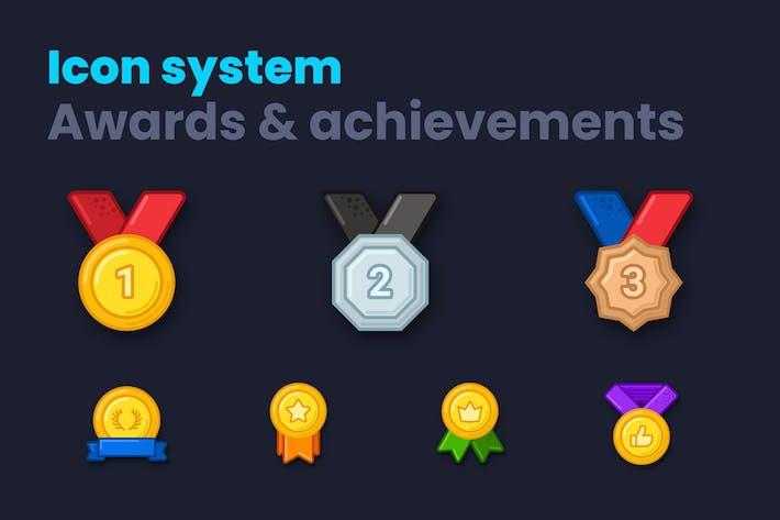 Auszeichnungen & Erfolge Icon System